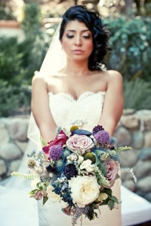 Purple-Blue-Exotic-Bouquet