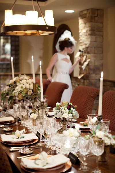 Vintage-Brown-and-Gold-Wedding - Elizabeth Anne Designs: The Wedding ...