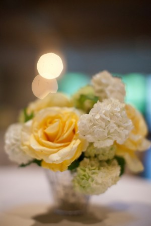 Yellow-Rose-Hydrangea-Centerpiece