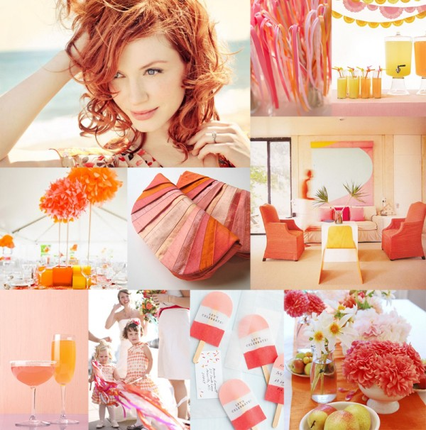 pink-yellow-orange-wedding-inspiration-board