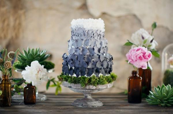 Blue-Ombre-Petal-Cake