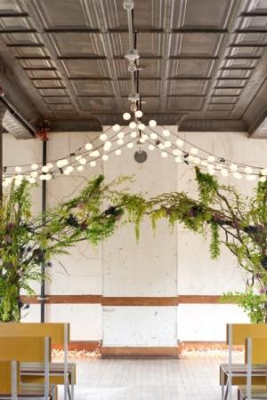 Greenery-and-Twinkle-Light-Wedding-Arbor