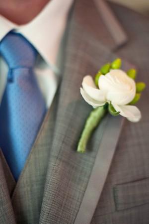 Grey-Suit-Ranunculus-Boutonniere