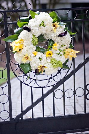 Hydrangea-Lily-Wreath