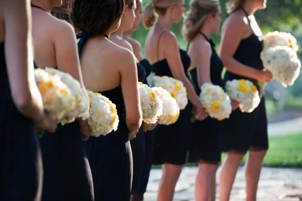 Navy-White-Yellow-Bridesmaids