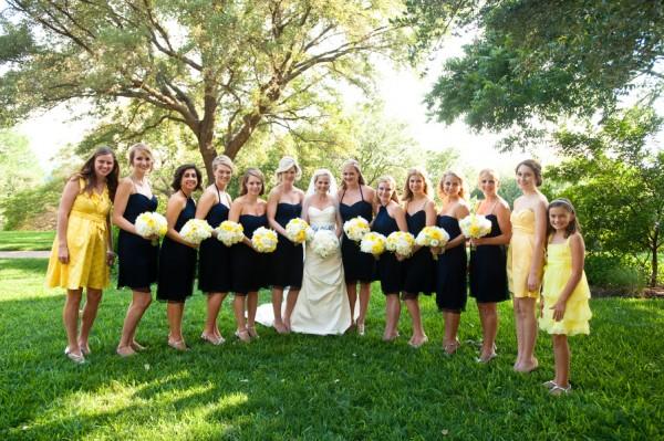 Navy-Yellow-Bridal-Party