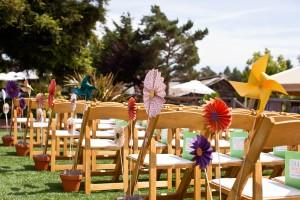Pinwheel-Wedding-Ceremony-Decor