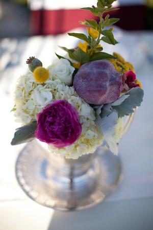 Pomegranate-Floral-Centerpiece