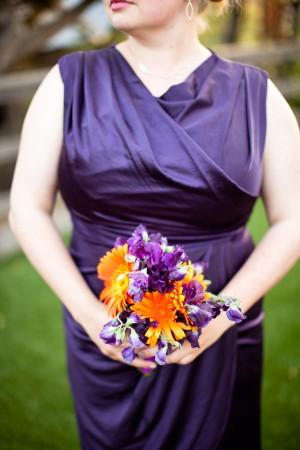 Purple-Orange-Bridesmaid