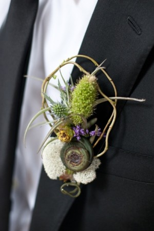 Rustic-Boutonniere