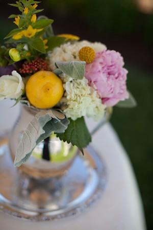 Rustic-Floral-Lemon-Centerpiece