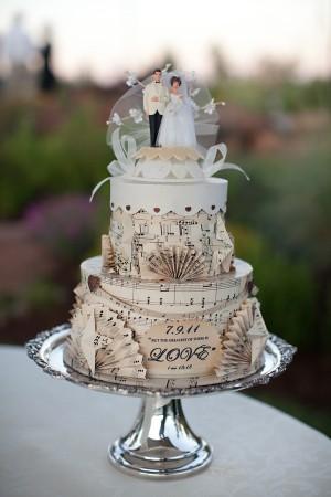 Vintage Themed Wedding Cakes Images - Wedding Decoration Ideas