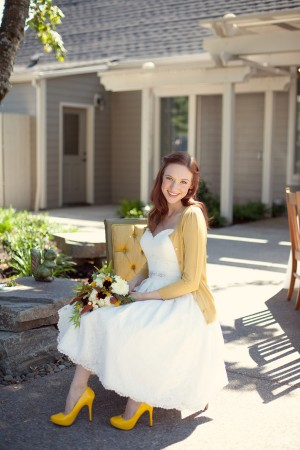 Bride-in-Cardigan