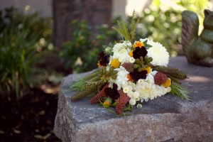 Brown-White-Bouquet