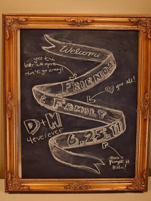 Chalkboard-Wedding-Decor