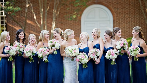 Navy-Bridal-Party