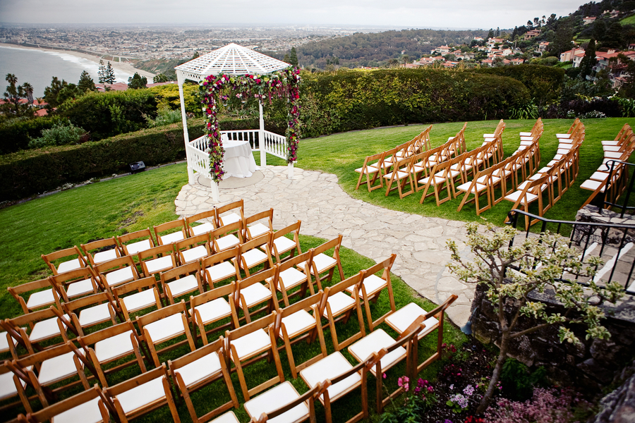 Orange County Beachside Wedding Ceremony