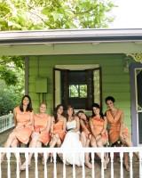 Peach-Bridesmaids
