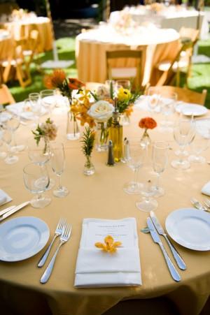 Peach-Wedding-Table