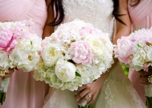 Peonies-and-Hydrangea-Bouquets