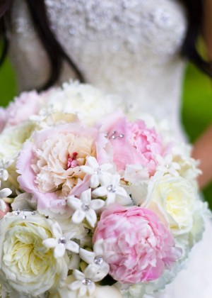 Peony-Stephanotis-Bouquet