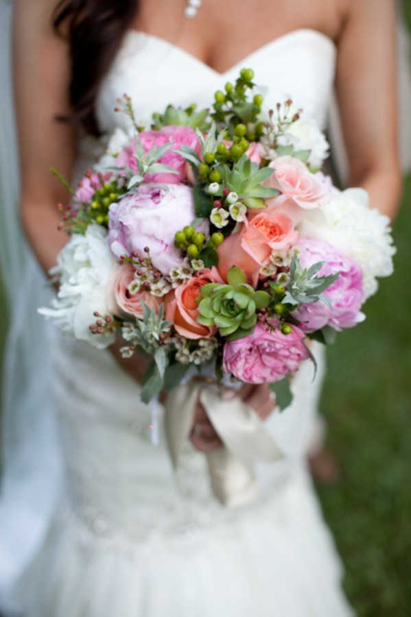 Pink-Peach-Coral-Succulent-Bouquet