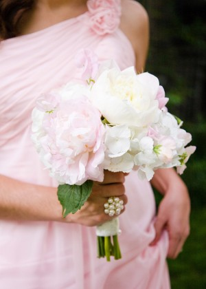 Pink-Peony-White-Hydrangea-Bouquet