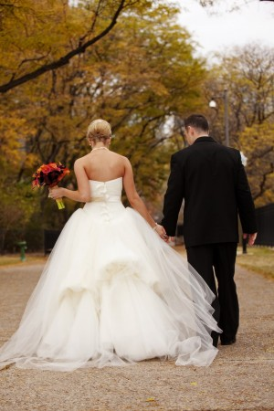Tulle-Vera-Wang-Bridal-Gown