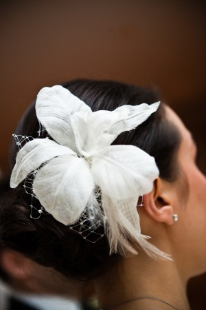 White-Lily-Hairpiece