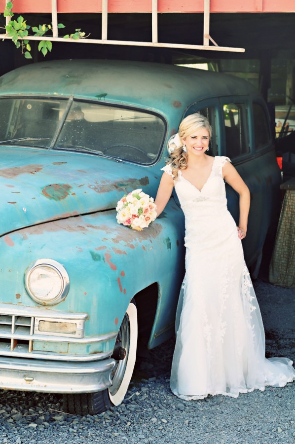 Antique-Vintage-Wedding-Car