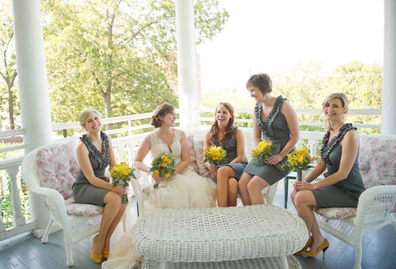 Banana Republic Gray Bridesmaids Dresses