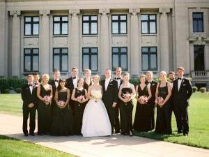Black-Tie-Bridal-Party