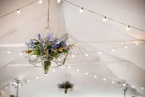 Blue-Floral-Tent-Chandelier-