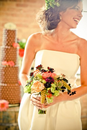Coral-and-Blackberry-Bouquet-1