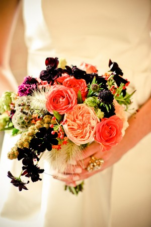 Coral-and-Blackberry-Bouquet-2