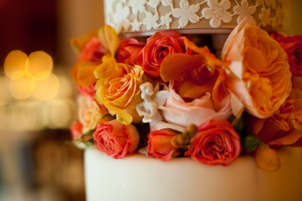 Elegant-Orange-White-Wedding-Cake-2