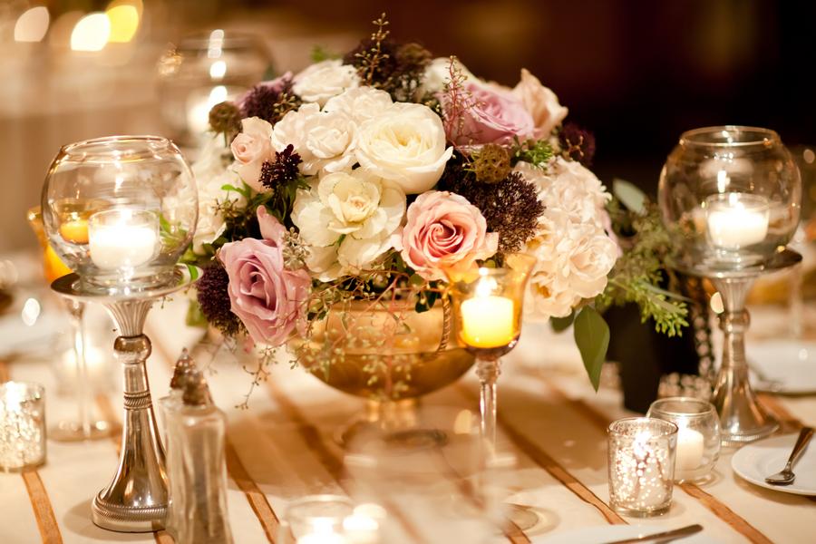 Elegant Vintage Gold Wedding By Heather Parker 6