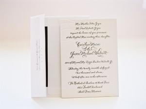 Letterpress-Calligraphy-Invitation