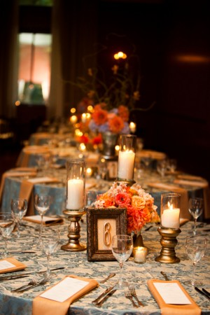 Orange-Peach-Blue-Fall-Wedding