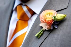 Orange-Striped-Tie