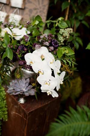 Organic-Orchid-Wedding-Centerpiece