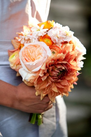 Peach-Orange-Bouquet