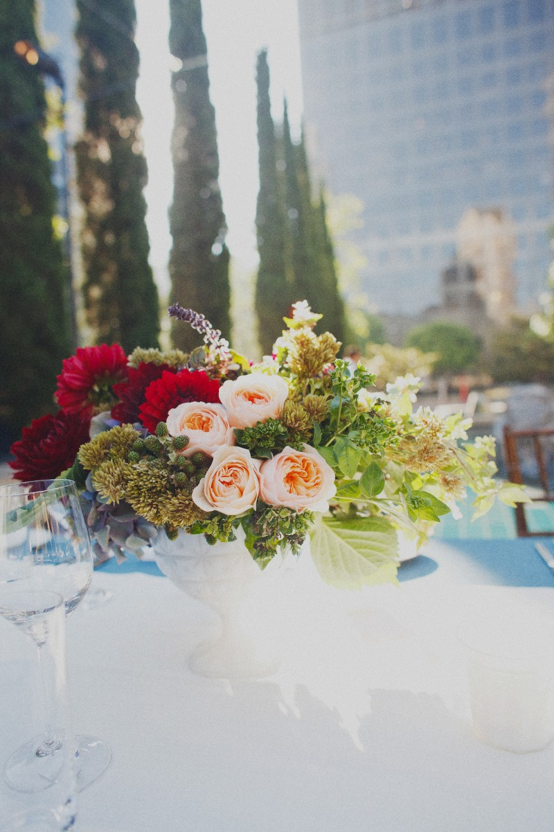 Peach-and-Red-Floral-Arrangement