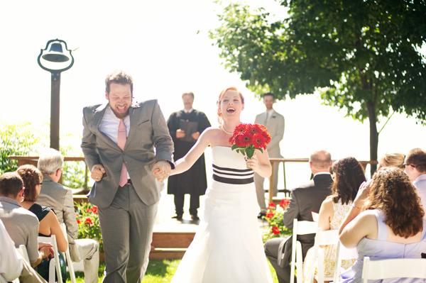 Red-Black-Michigan-Outdoor-Wedding