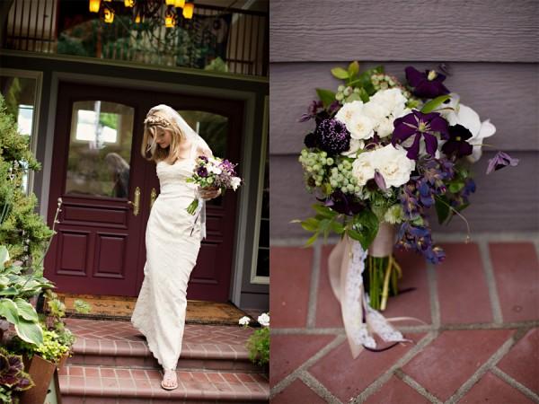 Rustic-Purple-Wedding-Flowers