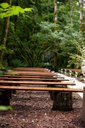 Rustic-Wood-Benches-Wedding-Ceremony