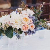 Stunning-Organic-Rose-Hydrangea-Centerpiece