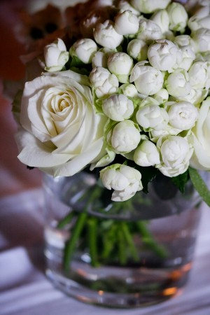 White-Rose-Ranunculus-Centerpiece