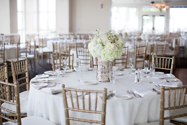 White And Gold Wedding Reception Elizabeth Anne Designs The