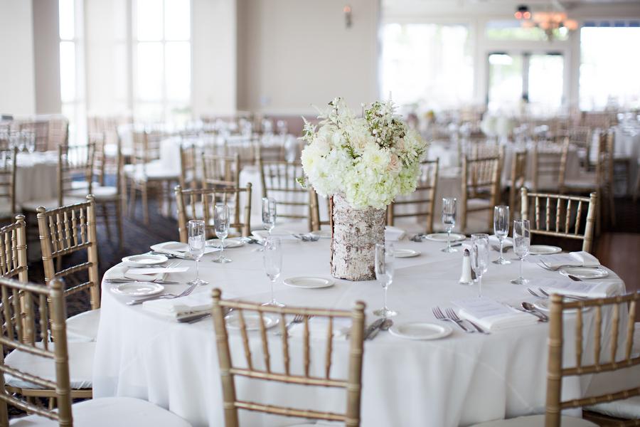 White And Gold Wedding Reception Elizabeth Anne Designs The